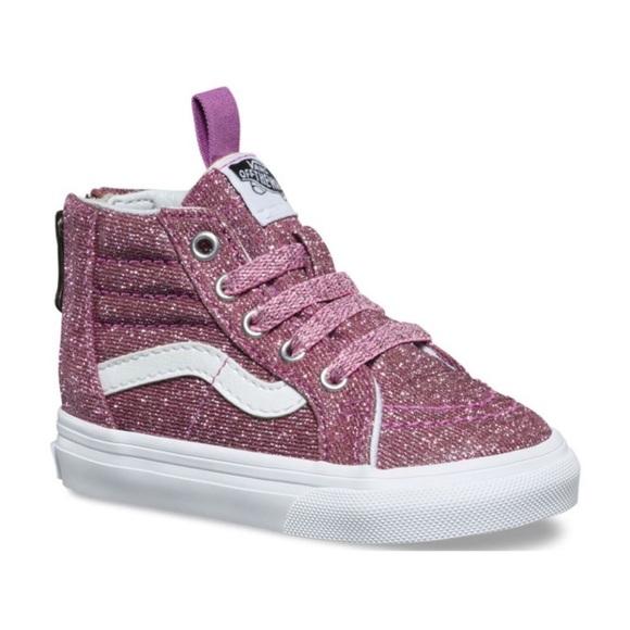 67a89923f6bd Vans-Kids Sk8-Hi Zip Sneaker
